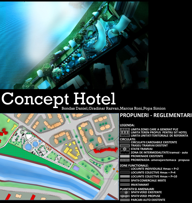 Hotel concept simion popa for Hotel concept
