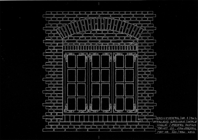Detalje_Vest facade vindue